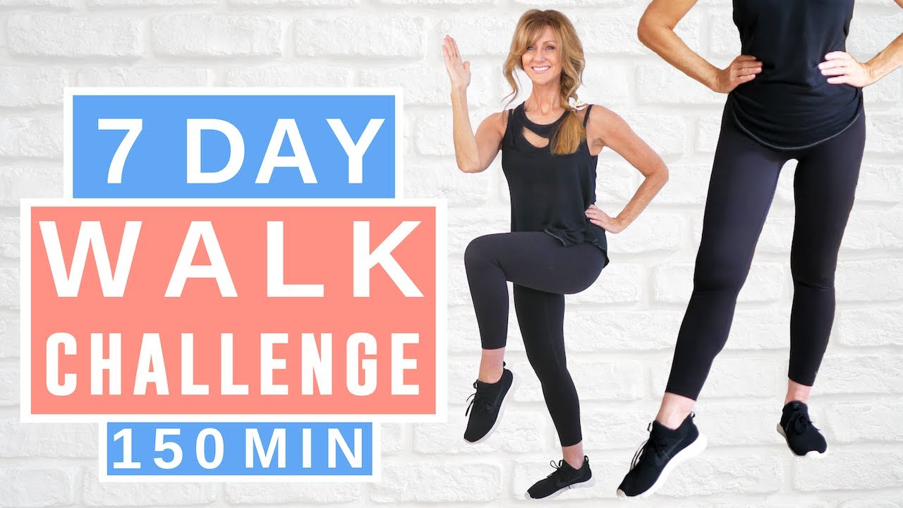 7 Day WALKING WORKOUT CHALLENGE For Women Over 50!