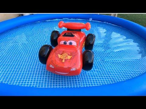 Disney Cars Toys Lightning McQueen Mater Ride On, Disney Mack Truck