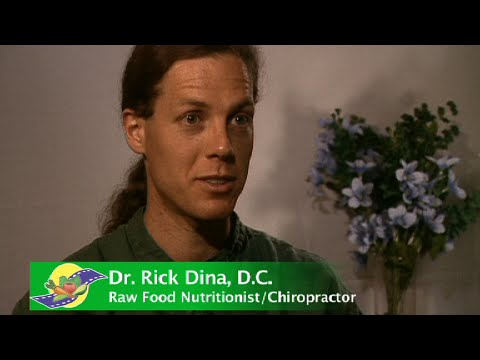 Dr. Rick Dina Interview - Being a Raw Food Teacher