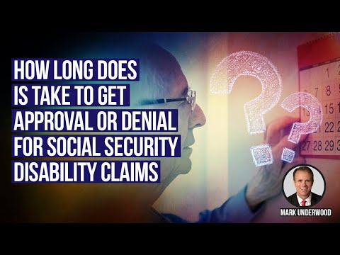 How long does a Social Security Disability Claim take?