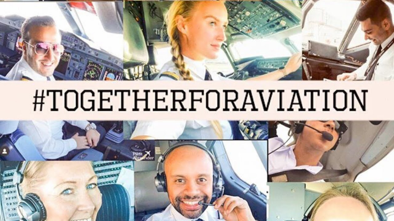 TOGETHER FOR AVIATION ✈️💙 (Motivational)