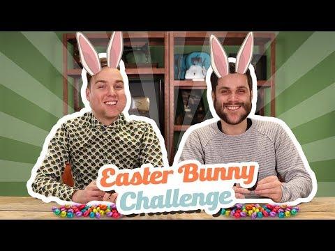 EASTER BUNNY CHALLENGE!