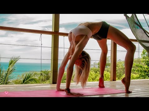Sore Back Release ♥ Yoga For Beginners   5 Min Miracle