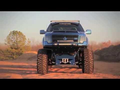 enKOre  Custom Lifted 2010 Ford F150