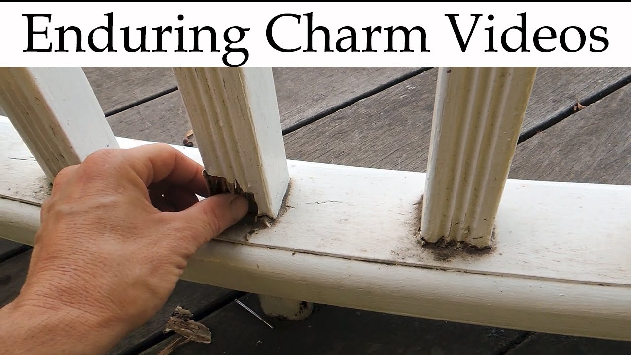 Youtube Chair Rail Part - 41: Replace Balusters On A Deck Or Porch Railing