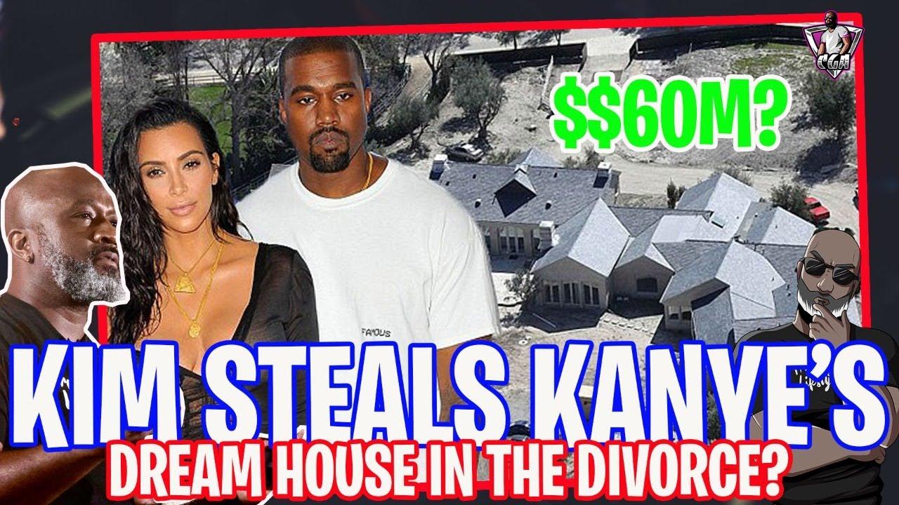 Download Did Kim Kardashian Steal Kanye West's $60 Million Dreamhouse In Their Divorce?