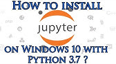 Installing Jupyter Notebook on windows 10 with PIP - YouTube