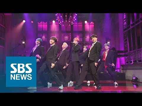 전 세계 기록 뒤흔든 방탄소년단…미국 SNL 컴백 무대 화제 / SBS