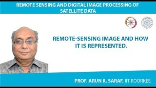 Remote-sensing Image and How it is represented.