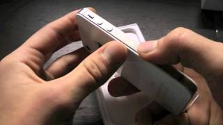 Apple iPhone 4S 32GB Unboxing(Finally Got The New iPhone 4S! Watch The Unboxing Here! The New iPhone 4S comes in 64GB, 32GB, & 16GB sizes on ATT, Verizon & Sprint. NEW 5.1.1 ..., 2011-10-14T23:25:04.000Z)