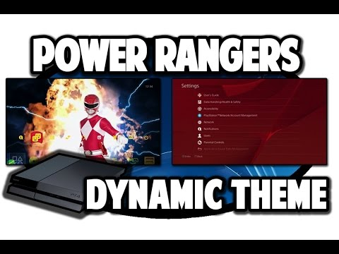 [ps4-themes]-mighty-morphin-power-rangers-dynamic-theme-video-in-60fps