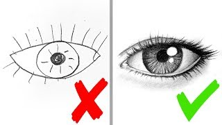 draw step eyes easy drawing realistic tutorial facedrawer play