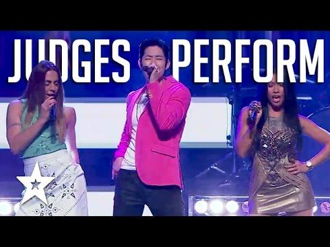 Got Talent Judges Perform On Asia's Got Talent