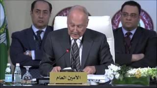 اجتماع وزراء الخارجية استعدادا للقمة العربية