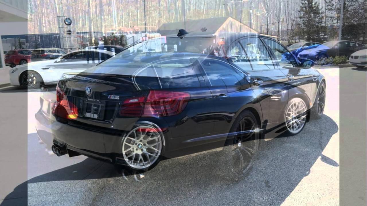 2016 BMW M5 Azurite Black  YouTube