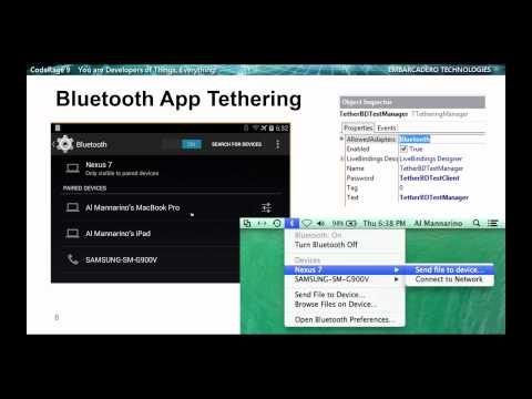 AppTethering For Object Pascal VCL and FMX Using Wifi and Bluetooth