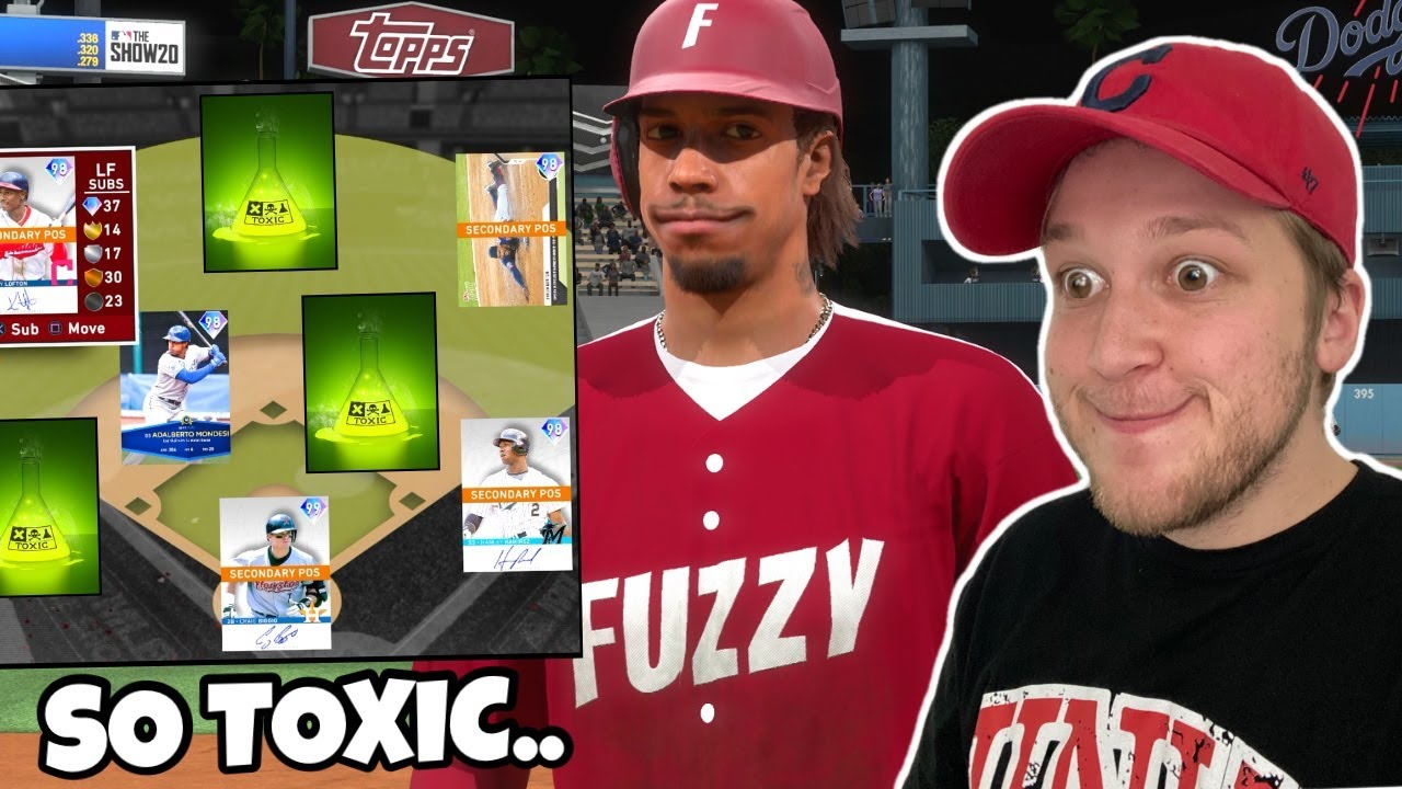 i used the TOXIC SQUAD one last time before MLB THE SHOW 21..