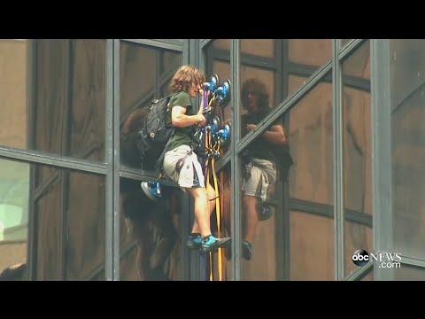 Man Climbs Trump Tower FULL LIVESTREAM (8/10/16)