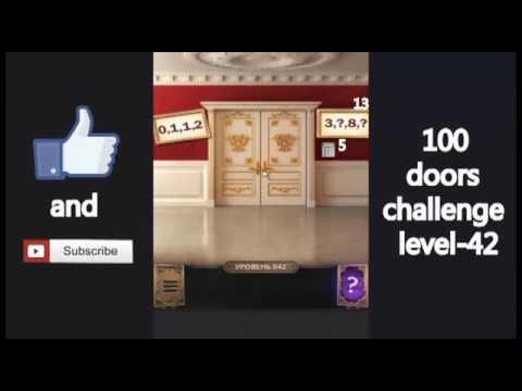100 Doors Challenge Level 42 Vyzov 100 Dverej 42 Uroven Youtube