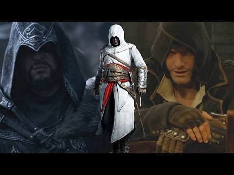 All Assassin's Creed Cinematic Trailers