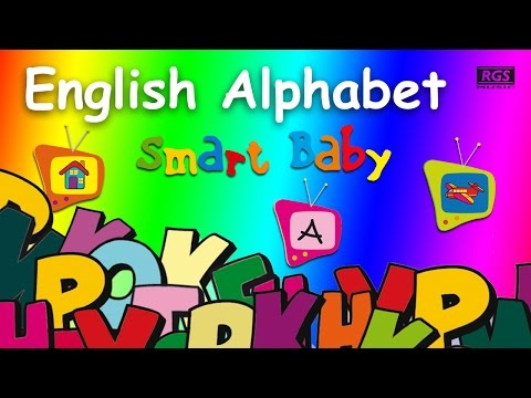 ABC English Alphabet. Smart Babies. Learn the alphabet in English