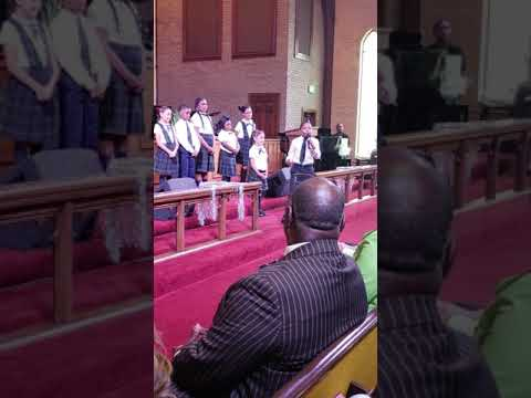 Amazing students from Calvary Resurrection Academy'