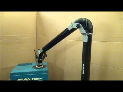 AIRFLOW SYSTEMS MINIPAC HP-DOP PORTABLE DUST COLLECTOR