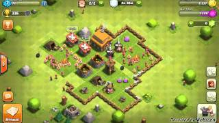Cool glitches on clash of clans
