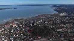 Aerial video - spring 2017 in Pispalanharju, Tampere