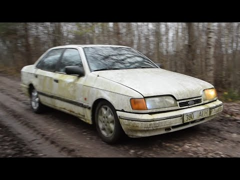 1990 Ford Scorpio 2.4 V6 Test Drive After 3 Years