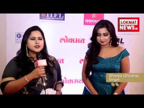 Lokmat Maharashtrian of the Year 2018 | Shreya Ghoshal | Lokmat Exclusive Interview