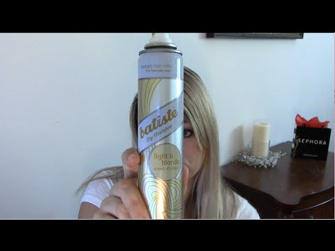 Batiste Light and Blonde Dry Shampoo Review and Tutorial