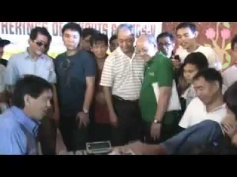 GM Eugene Torre & Amado Dulnuan - Ceremonial Moves @ GOKAK 2011