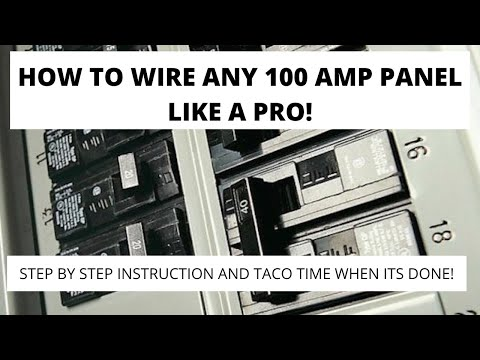 How to Wire and Install an Electrical Panel