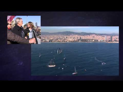 Barcelona Wolrd Race : Departure Live