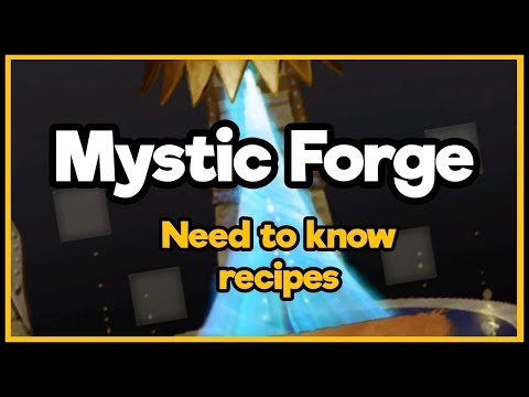 Guild Wars 2  - Mystic Forge - Need To Know Recipes!