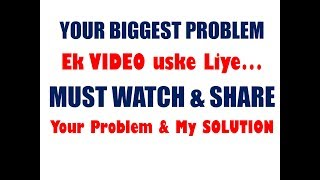 YOUR PROBLEM & MY SOLUTION I GST & INCOME TAX Form No, Limits, Sections, Rates etc. I COMING I SHARE