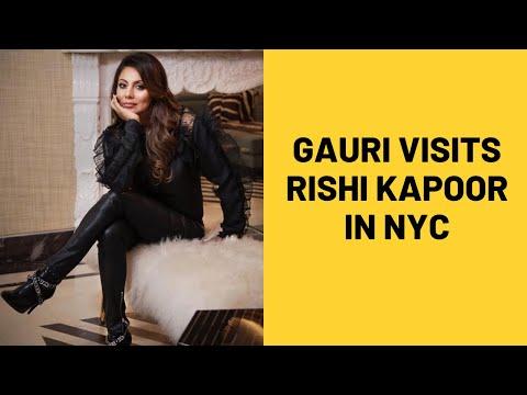 Gauri Khan Visits Rishi Kapoor in Newyork,Neetu Kapoor thanks Shahrukh for helping in tough phase Mp3