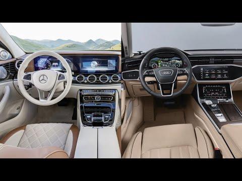 2019 Audi A6 VS Mercedes Benz E-Class - INTERIOR