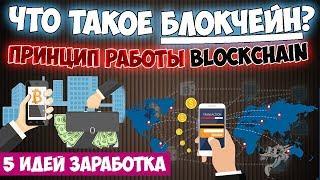 Технология блокчейн/blockchain - что это такое простыми словами и как работает + 5 идей заработка💲