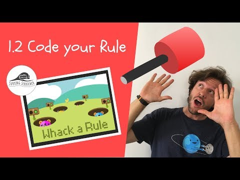 Scratch 3 Coding Tutorial — 1.2 Whack-a-Rule: Code the maths rule thumbnail