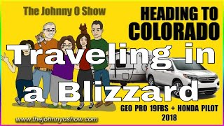 Ep. #763 Leaving For Colorado! Geo Pro 19FBS in Rough Weather!