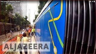 Brazil revamps Rio ahead of the Olympics