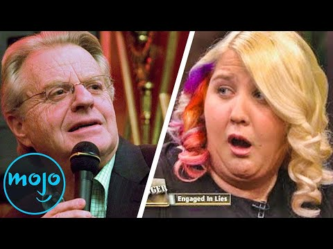 Top 10 WTF Jerry Springer Show Moments!!!