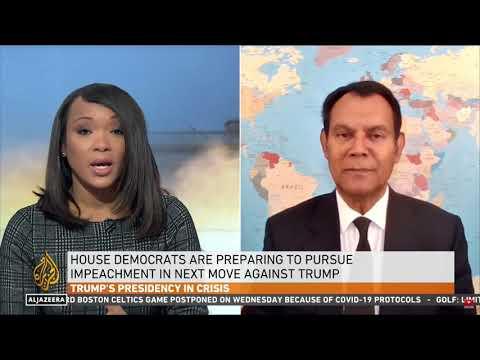 On Al Jazeera English Peter Mathews Says Pence Rejects 25th Amendment; Guarantees Trump Impeachment