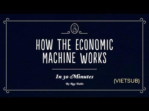 How The Economic Machine Works by Ray Dalio (VIETSUB)