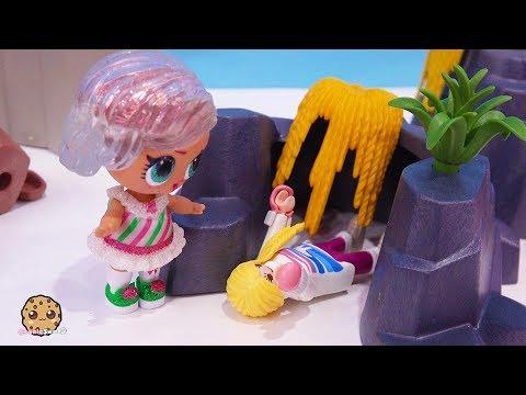 Help Cave Trap LOL Surprise & Playmobil Advent Adventure Part 9