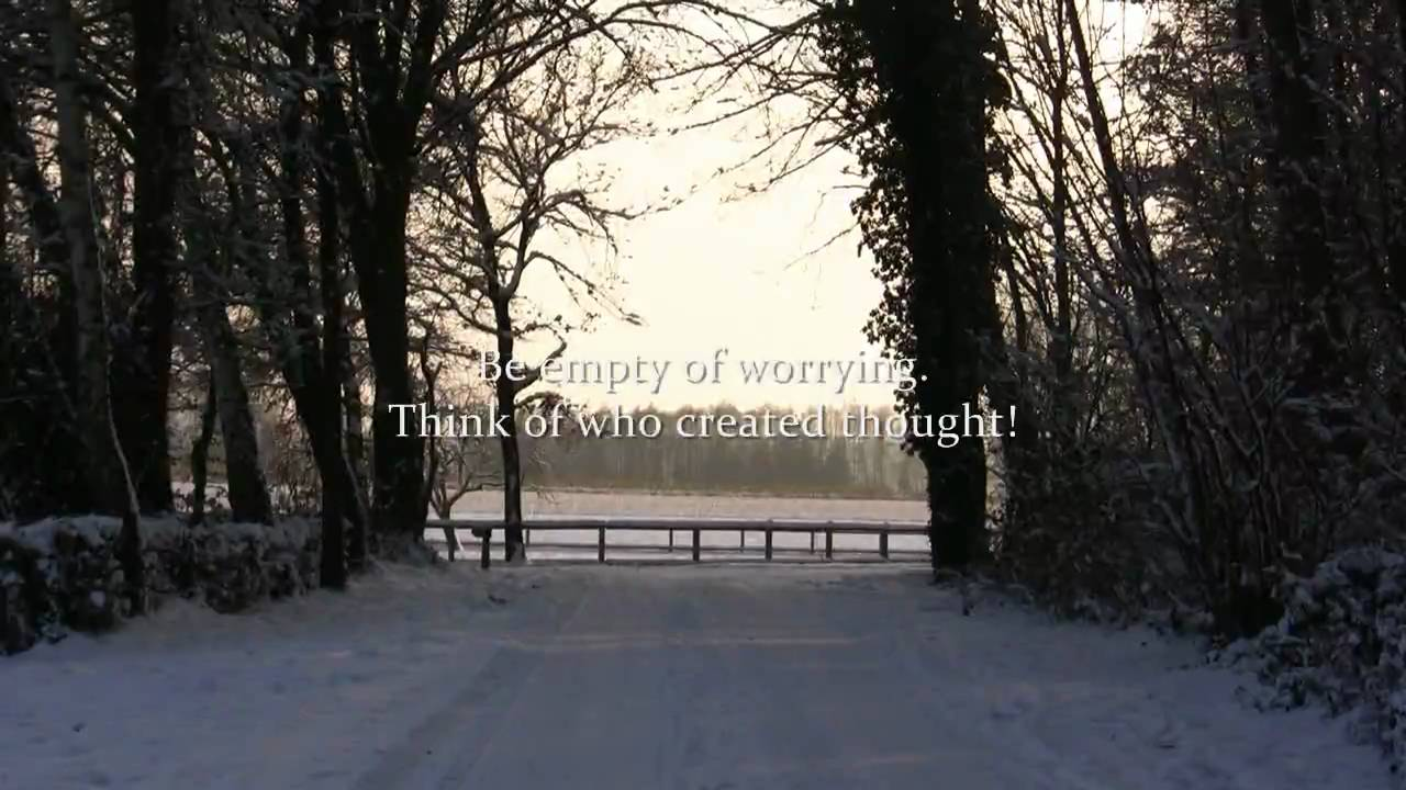 Quotes Yoga Winter Impressions With Rumi Quotes  Peaceful  Yoga Music  Youtube