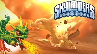 Skylanders - Camo and Sun Dragon Thoughts and Gameplay