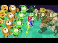 Wolf Family⭐️ Wolfoo Gets Lost in Plants vs Zombies Game World #3 | Kids Cartoon